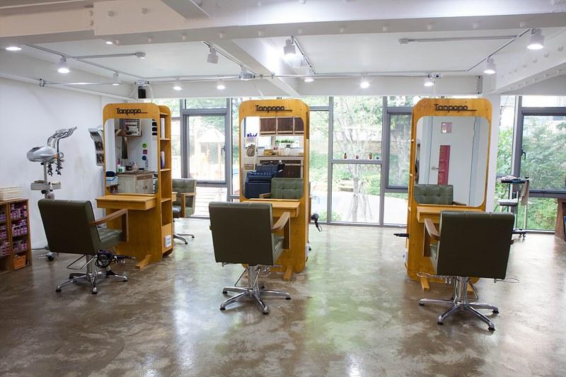 홍대 탄포포헤어 합정동 미용실 일본미용실 / タンポポヘア 韓国の美容室 ソウルの美容室