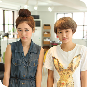 저작권 탄포포헤어 http://www.tanpopohair.com 큐트 앞머리 뱅