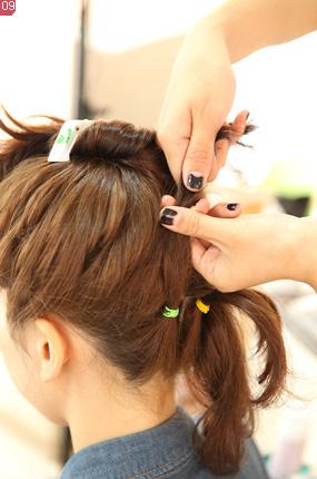 저작권 탄포포헤어 http://www.tanpopohair.com 똥머리 당고머리 묶음머리